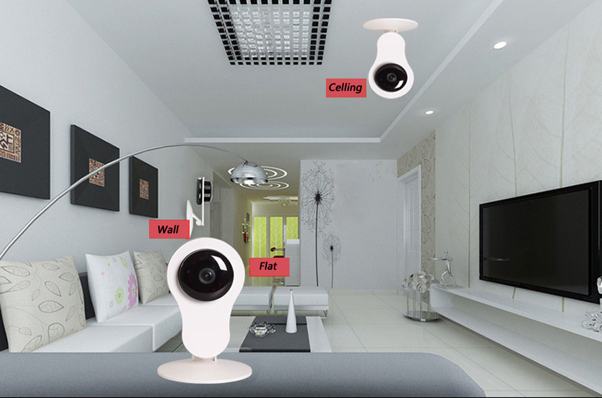 720P WIFI Home USE Smart Camera
